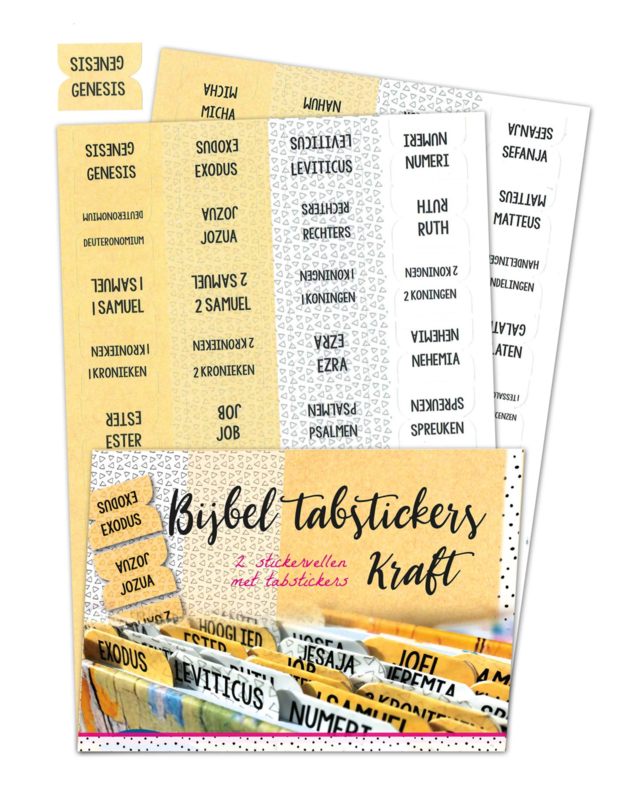 Biblejournaling tabstickers kraft