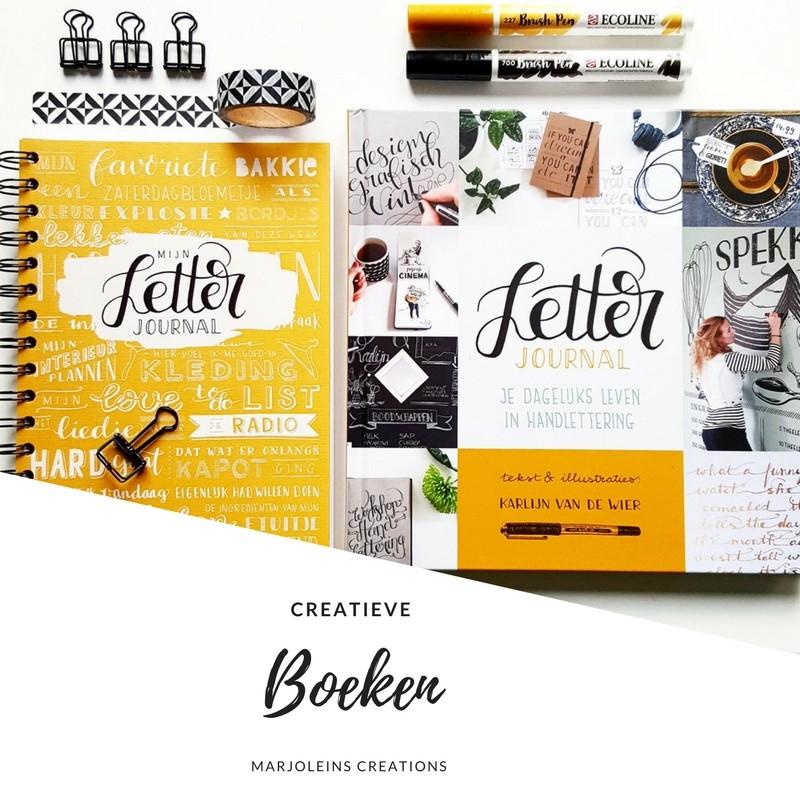 Boeken handlettering biblejournaling