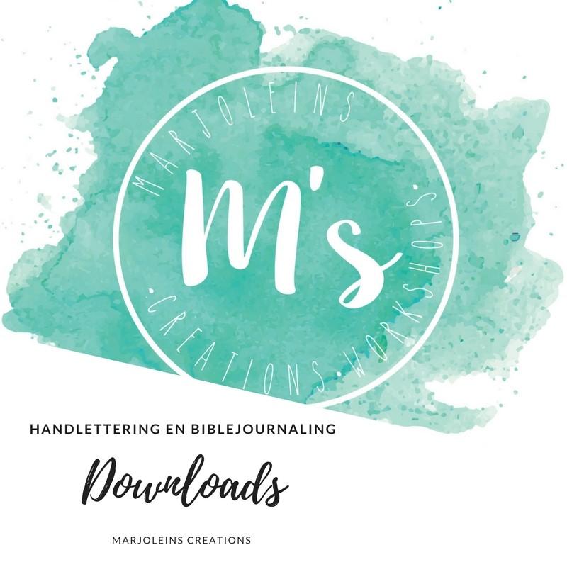 Downloads handlettering biblejournaling