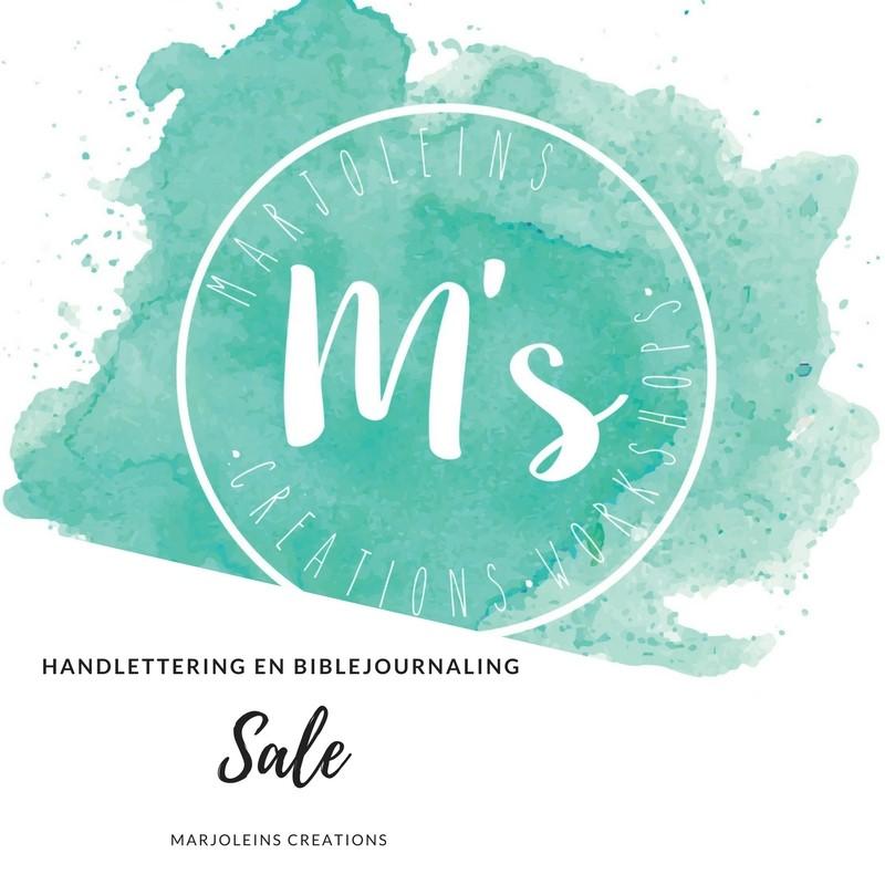 Sale handlettering biblejouraling