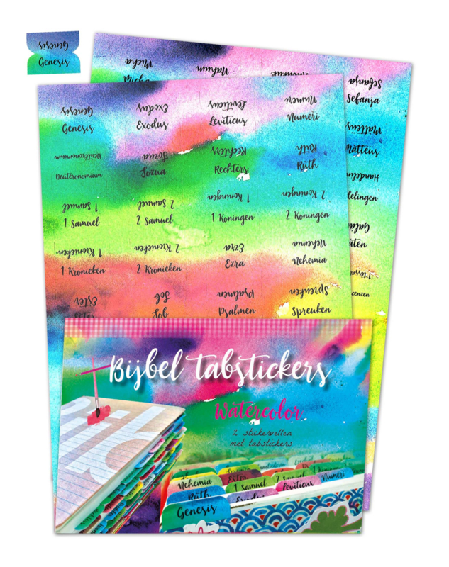 biblejournaling tabstickers watercolor