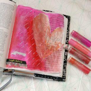 biblejournaling pasen 1 petrus 2 marjoleins creations