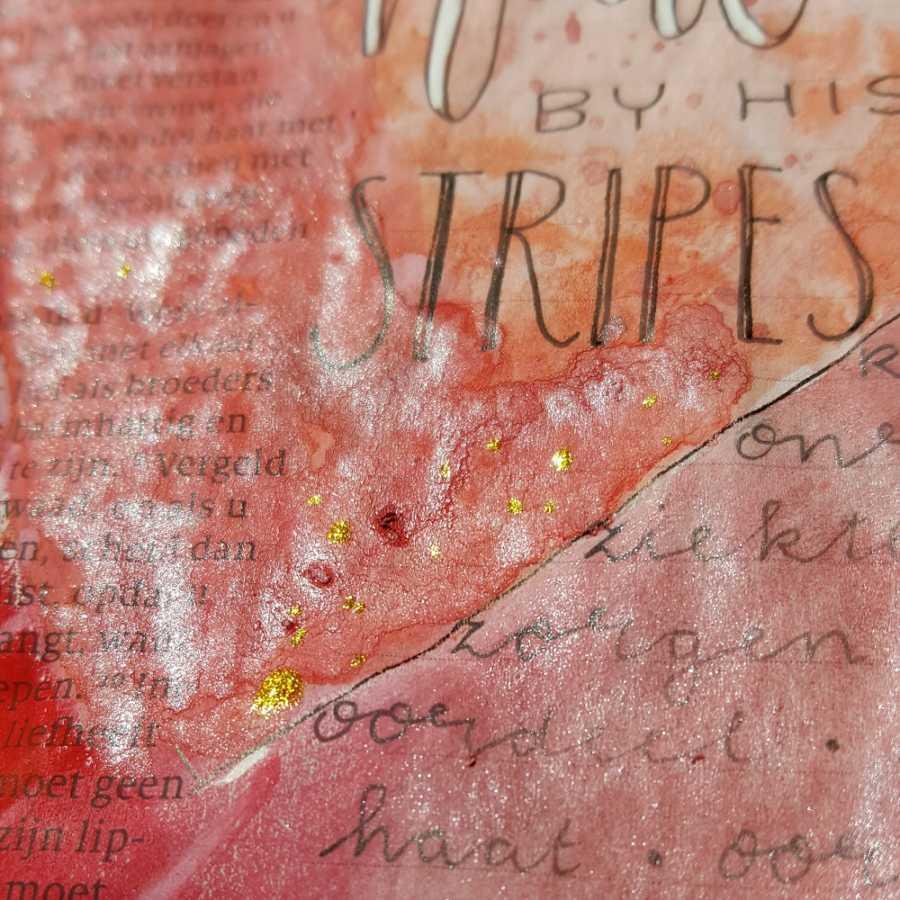 metallic gelatos biblejournaling marjoleins creations
