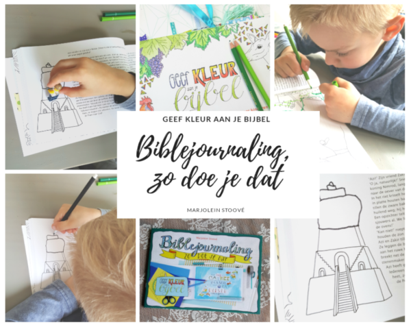 Workshop biblejournaling kinderen