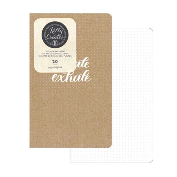 Travelers Notebook insert kraft dotted Kelly Creates binnenkant