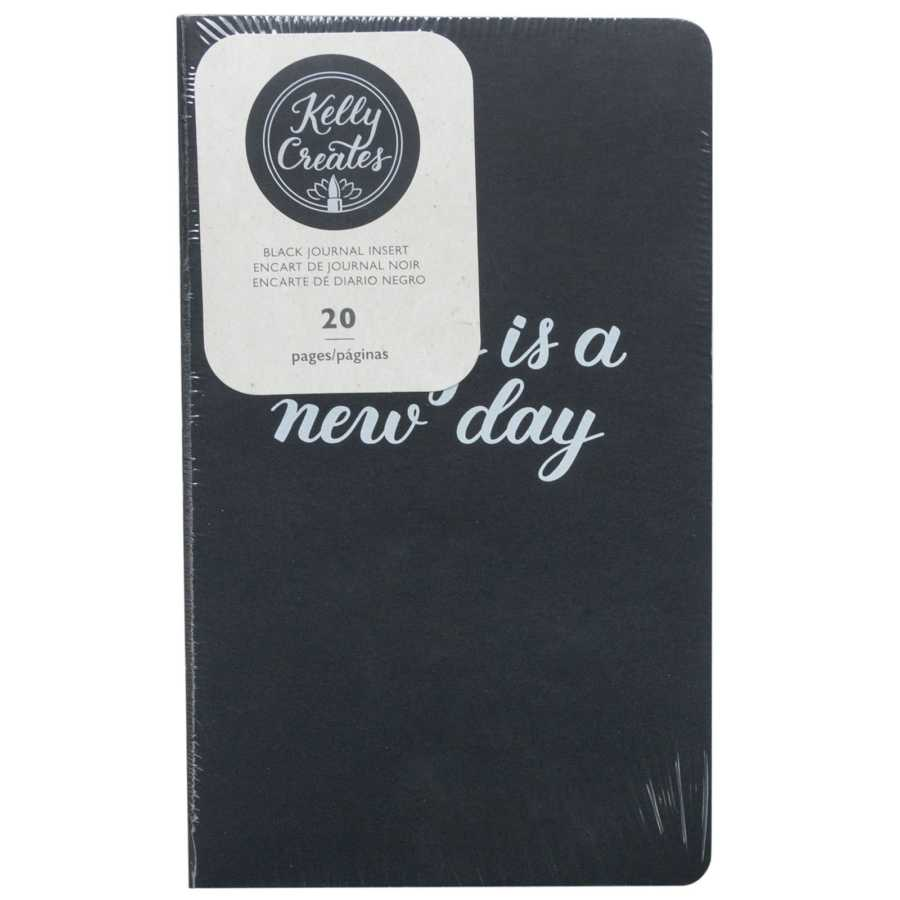 Travelers Notebook insert zwart Kelly Creates