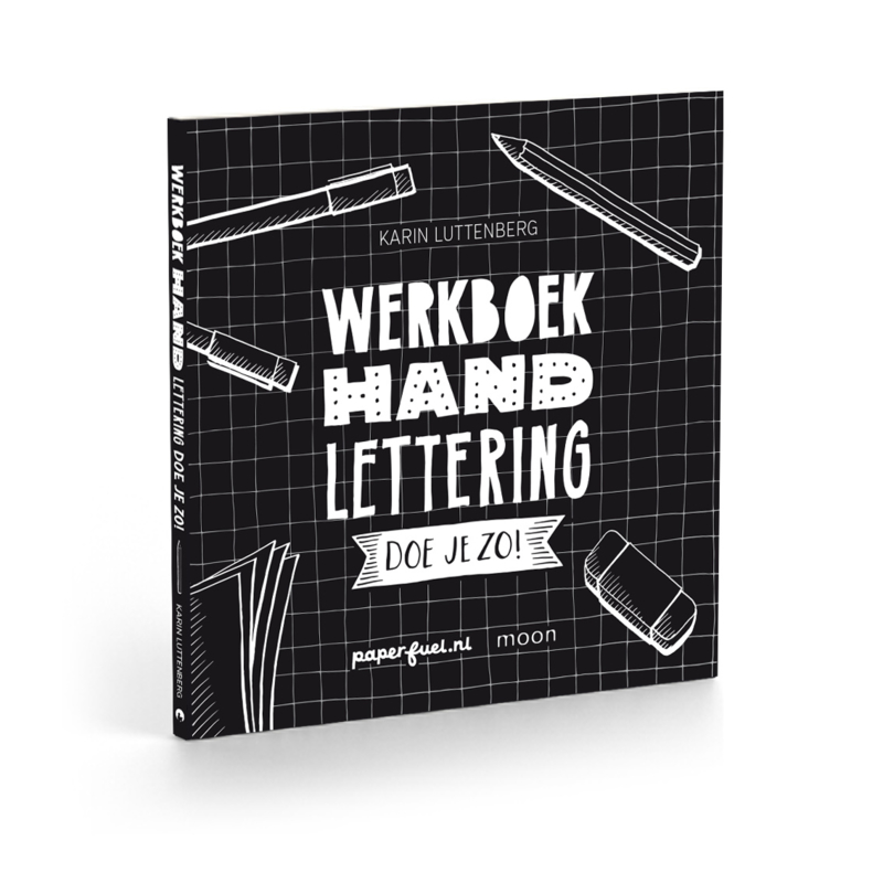 Werkboek Handlettering Doe je zo