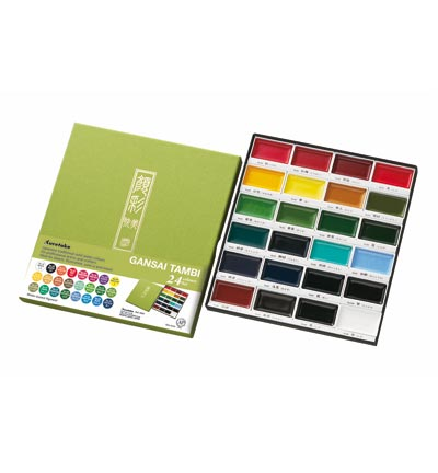 Gansai Tambi water colors 24