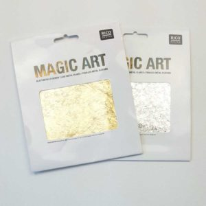 Gouden zilveren metalen vlokken guilding flakes