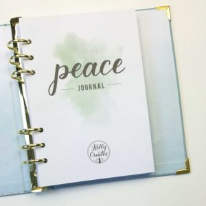Peace journal kelly creates