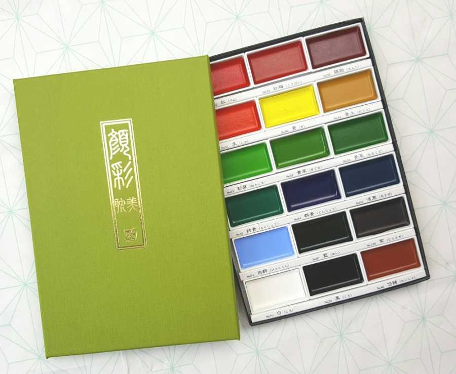 gansai tambi 18 water colours