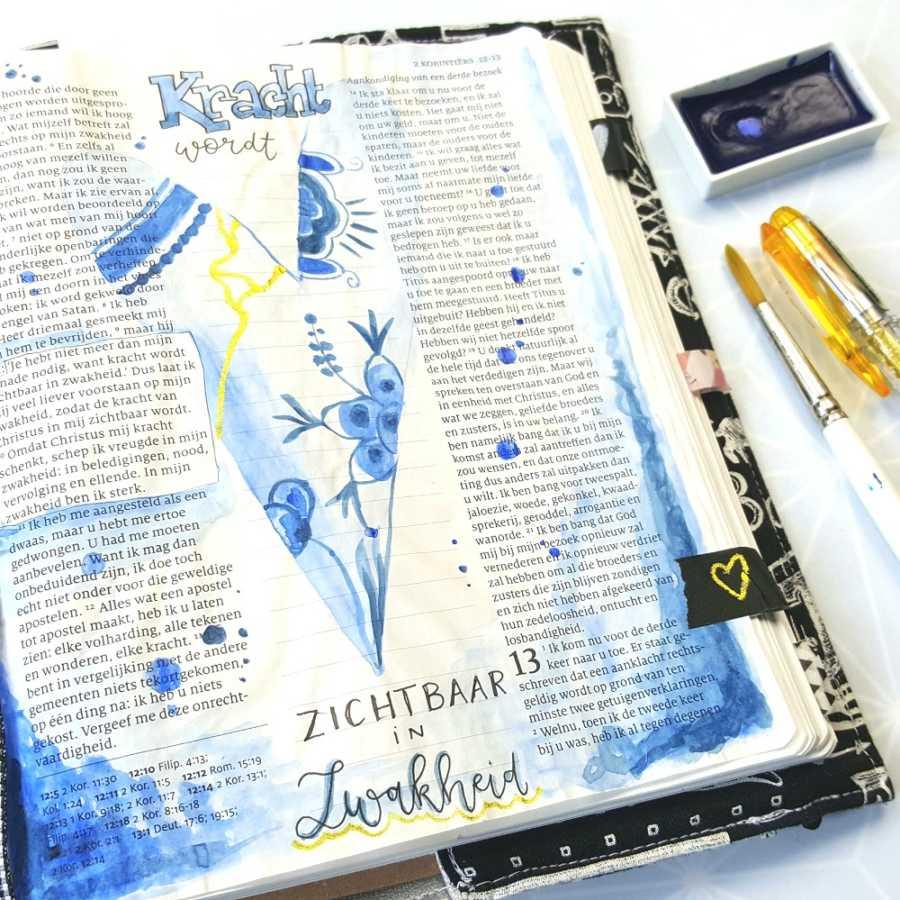 japanse kunstvorm biblejournaling ontdek de artiest in jou