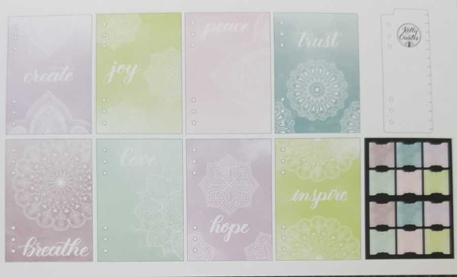 peace journal dividers