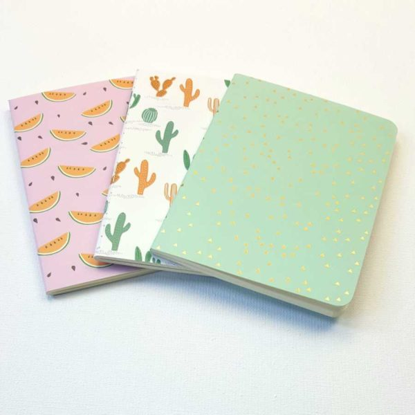 set 3 notebooks