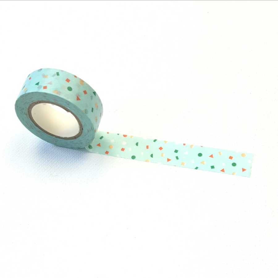 washi tape confetti