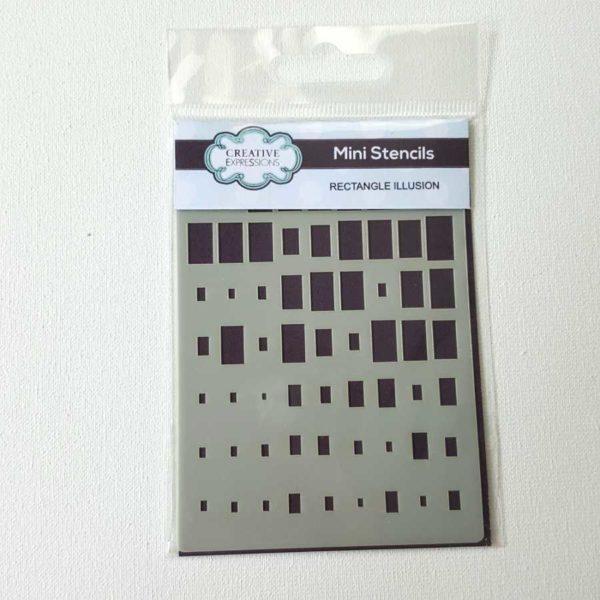 Mini stencil vierkant