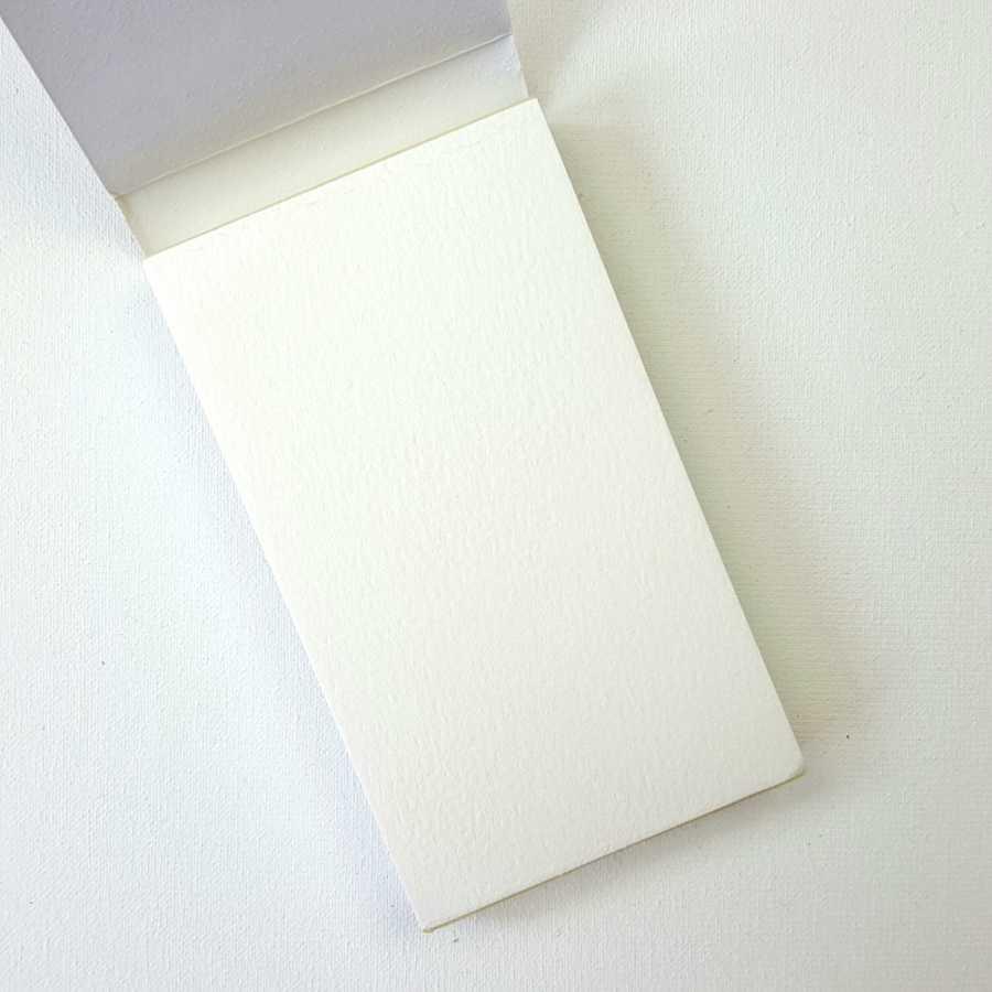 prima marketing watercolor paperpad binnenkant