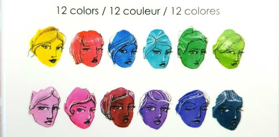 Jane Davenport watercolor bright palet kleuren