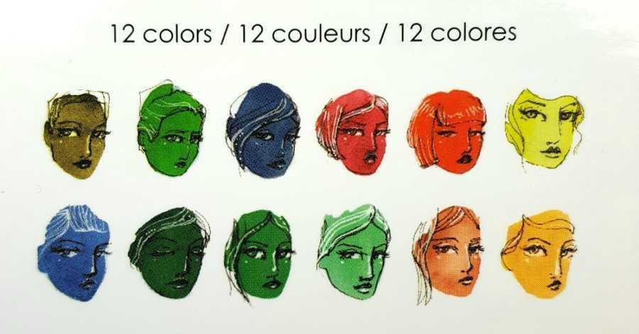 Jane Davenport watercolor glitz sea palet kleuren