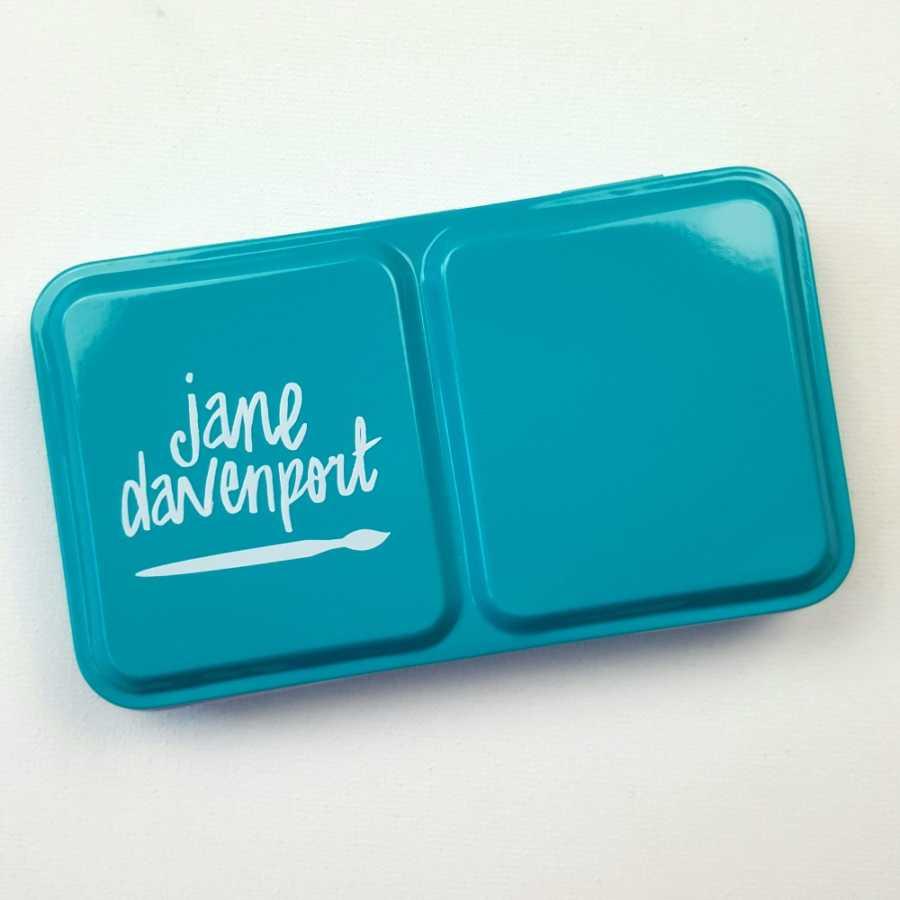 Jane Davenport watercolor glitz sea palet