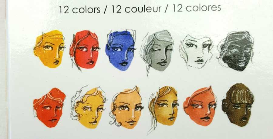 Jane Davenport watercolor neutral palet kleuren
