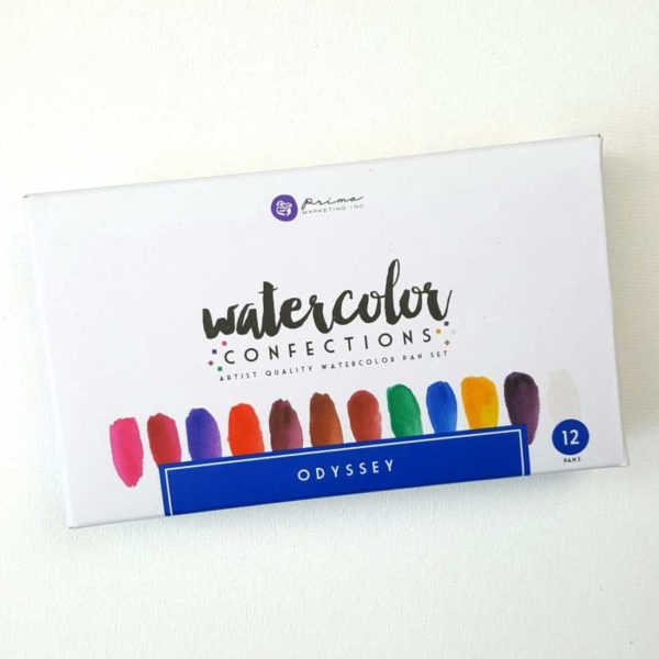 prima marketing odyssey watercolor box