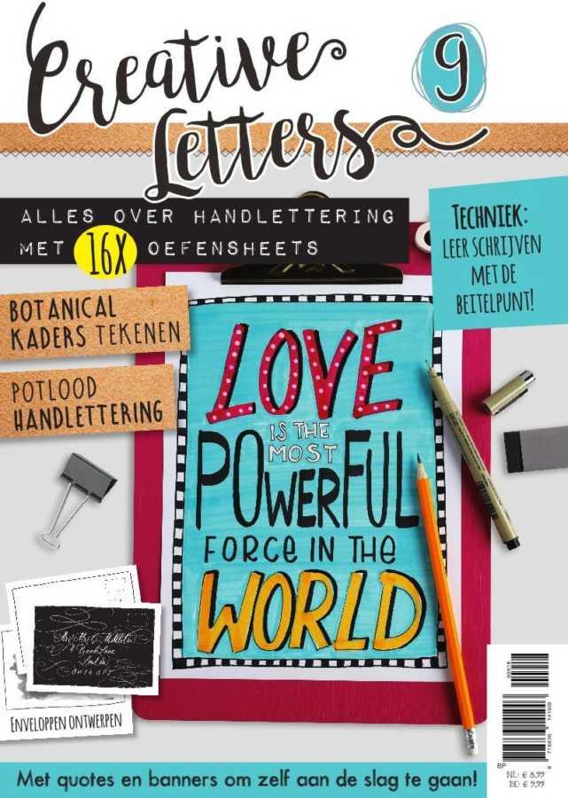 Creative Letters 9 tijdschrift