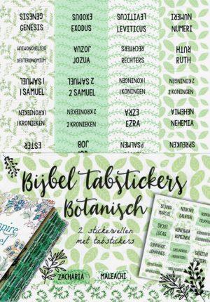Biblejournaling tabstickers botanisch 2
