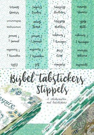 Biblejournaling tabstickers stippels
