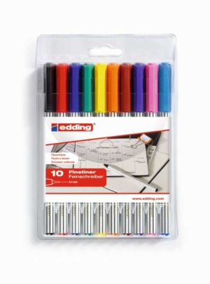 Edding89 fineliners set van 10