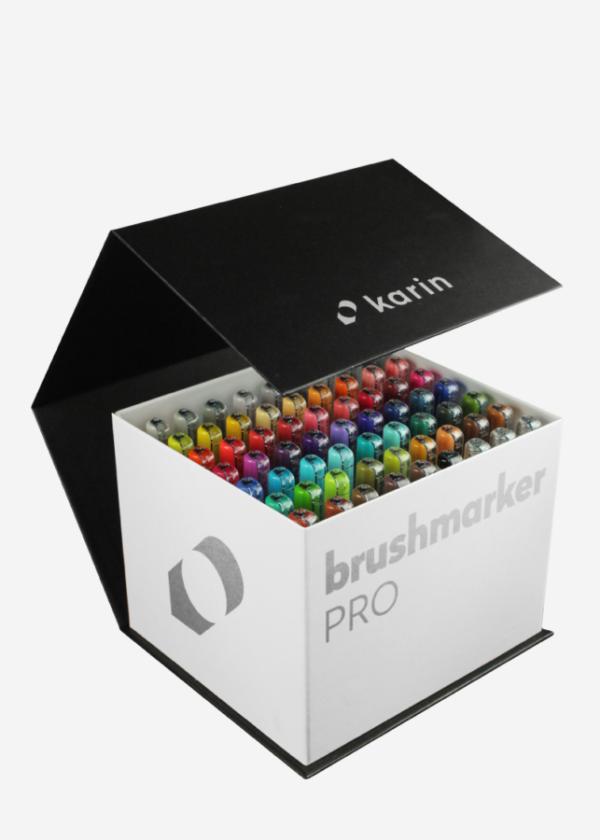 Karin Brushmarker pro mega box 60 kleuren