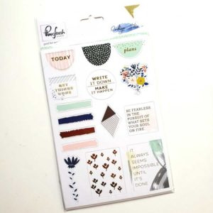 Pinkfresh bulletjournaling Stickers 157 planner