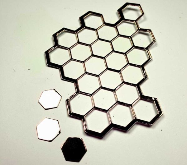 Sizzix Thinlits honeycomb stans
