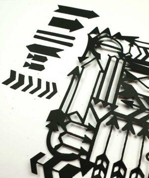 Tweedekansje: Stans pijlen (Sizzix thinlits)