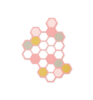 Sizzix thinlits hexagons dies