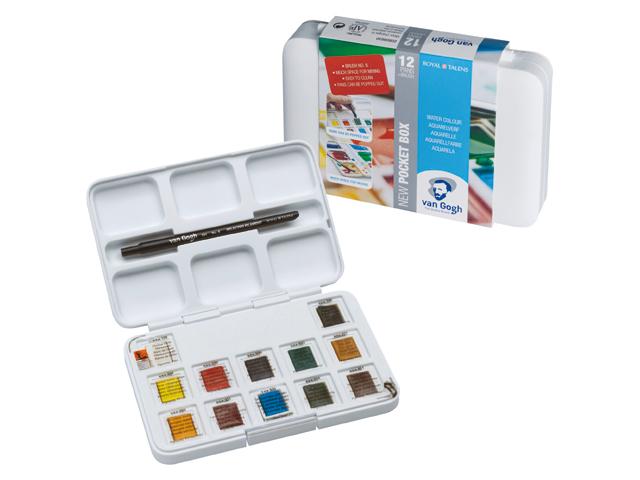 Van Gogh pocket box aquarel