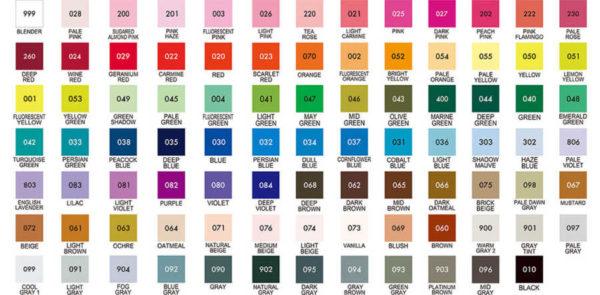 ZIG kleurenschema