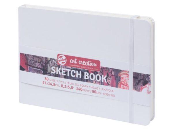 Sketchbook 21x14,8 Talens wit