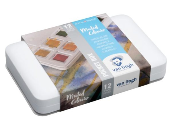 Watercolor Pocketbox Van Gogh Muted Colours