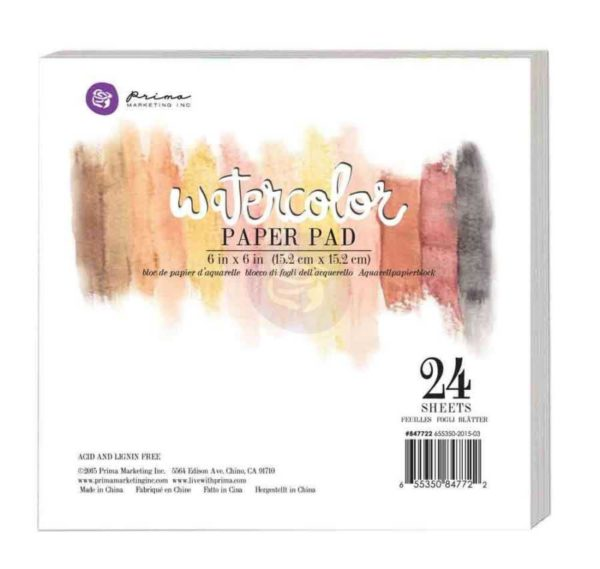 Watercolor paperpad Prima marketing
