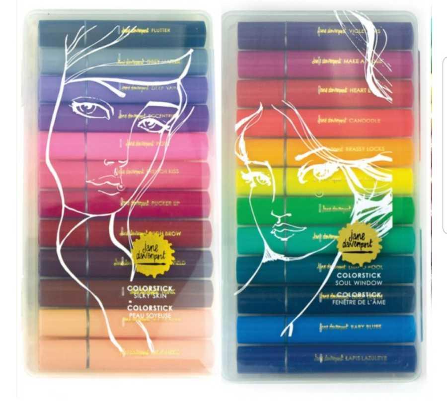 Jane Davenport Colorsticks Silky Skin Soul Window
