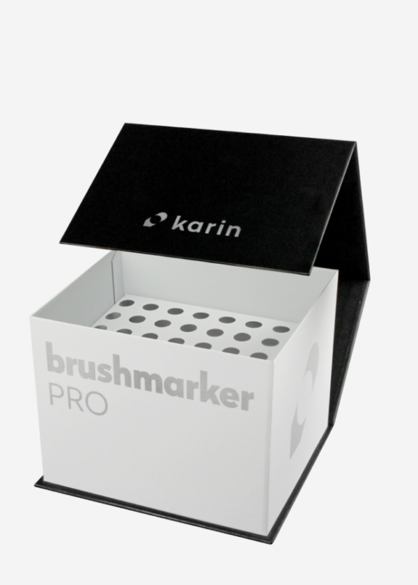 Karin brushmarker lege opbergbox empty box