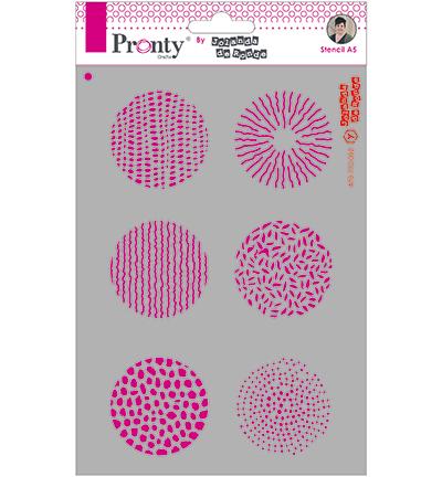 Stencil cirkel pronty jolanda de ronde