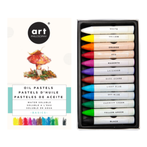 Prima Marketing Art filosophy water soluble oilpastels basics