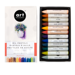 Prima Marketing Art filosophy water soluble oilpastels rustic