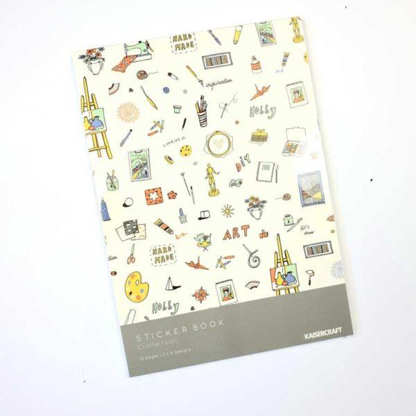 Crafternoon Kaisercraft sticker book