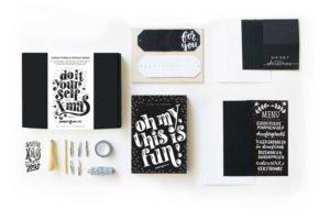 Paperfuel DIY Xmas box inhoud