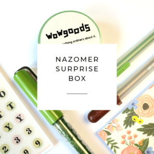 Surprise box nazomer creatief handlettering