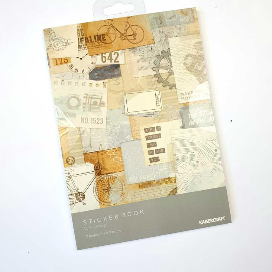 stickerbook workshop kaisercraft