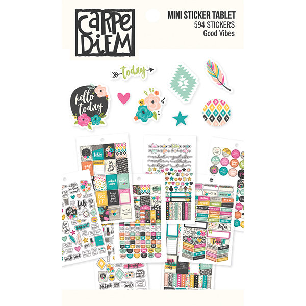 Carpe diem stickerboek Good vibes